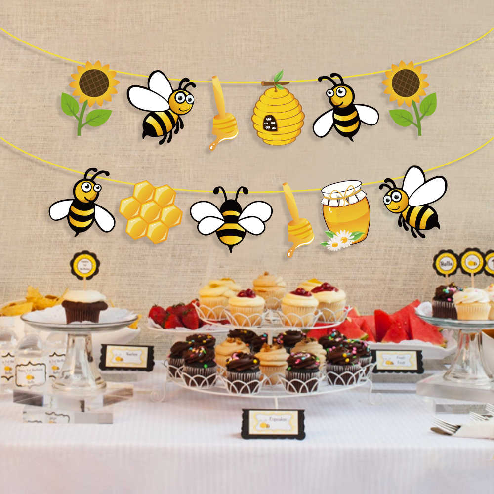 Baby Shower Yellow Honey Bee Party
