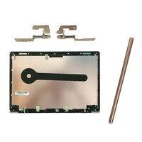 Yeni olmayan dokunmatik LCD arka kapak/LCD menteşeleri/LCD menteşeler asus için kapak UX303L UX303 UX303LA UX303LN pembe kabuk
