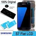 100% Оригинальный 5,1 ''Super AMOLED ЖК-дисплей сенсорный экран дигитайзер для Samsung Galaxy S7 Flat G930 G930F запасные части