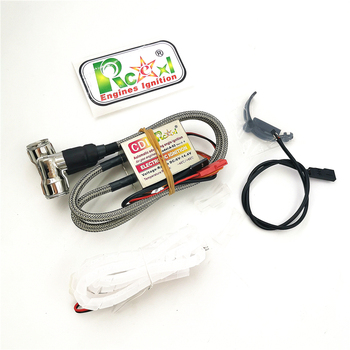 Rcexl Double Ignition CDI CM6 plugs 90 degrees / 120 degrees and Hall Sensor for straight / V type engines DLE 111 DA engines