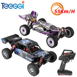 WLtoys 124018 124019 RC Car High Speed 55km/h 4WD Off-Road Crawler Climbing Racing 1:12 Remote Control Toys Gift for Adults