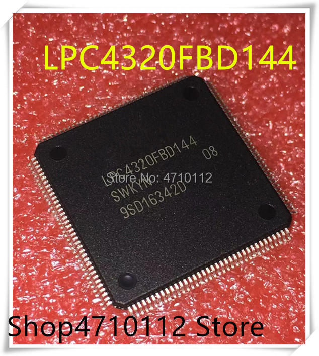 NEW 1PCS/LOT LPC4320FBD144 LPC4320 QFP-144  IC
