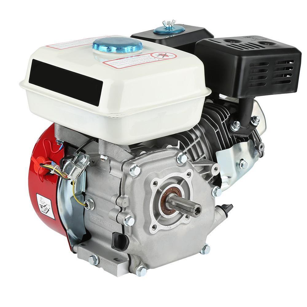 Moteur à essence refroidi par Air 4 temps moteur 6.5HP Pull Start 168F OHV monocylindre remplacement moteur à essence