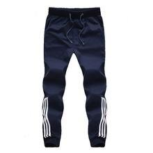 Новинка модный спортивный костюм мужские повседневные штаны