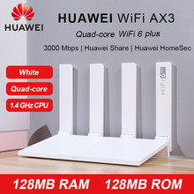 Original HUAWEI WIFI AX3 6 Plus 5 5G Router Quad-core Wi-Fi repetidor 3000 Mbps 1,4 GHz CPU 128MB RAM 128MB ROM(China)