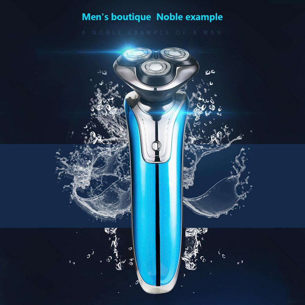 Electric Shaver Portable USB Charging Whole Body Wash Electric Shaver Body Wash Men\'s Beard Three Knife Head Floating Razor