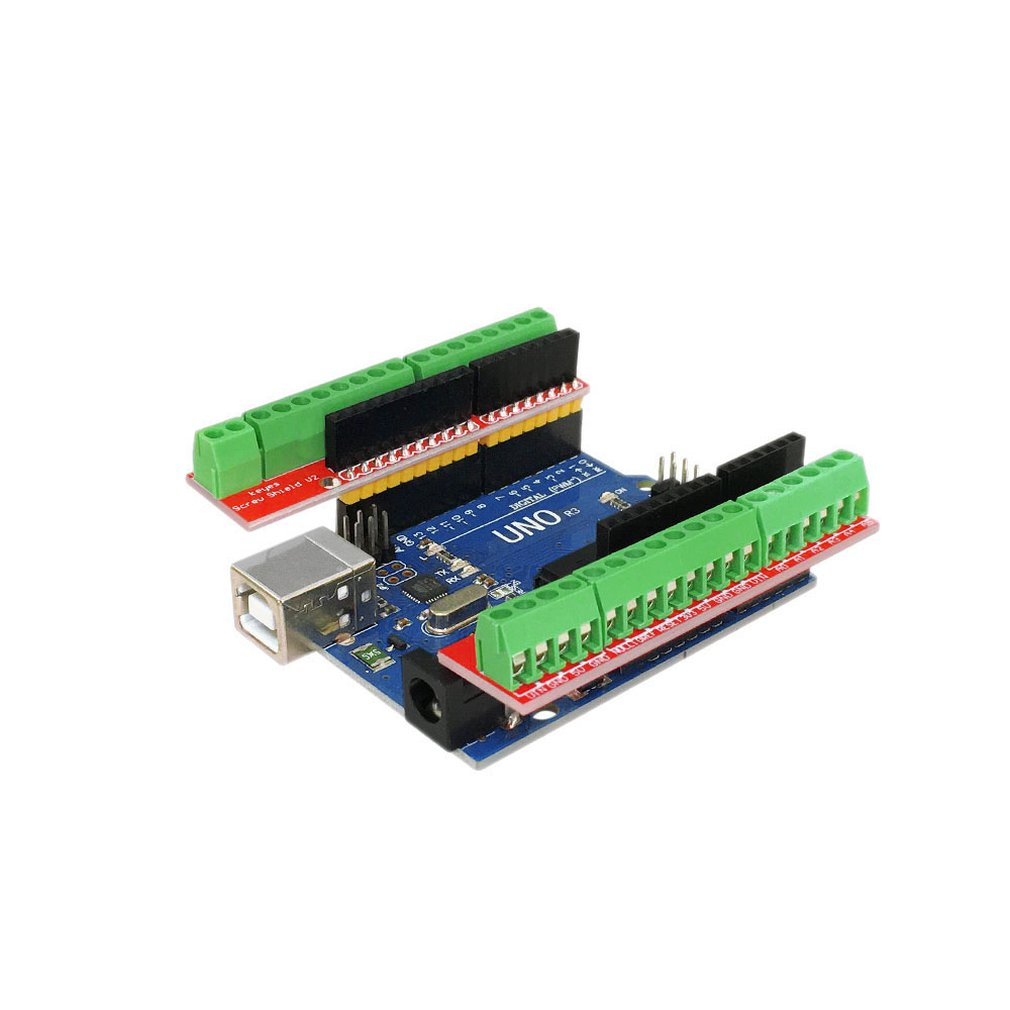 Screw Shield V2 Study Terminal Expansion Board (double Support) For Arduino UNO R3