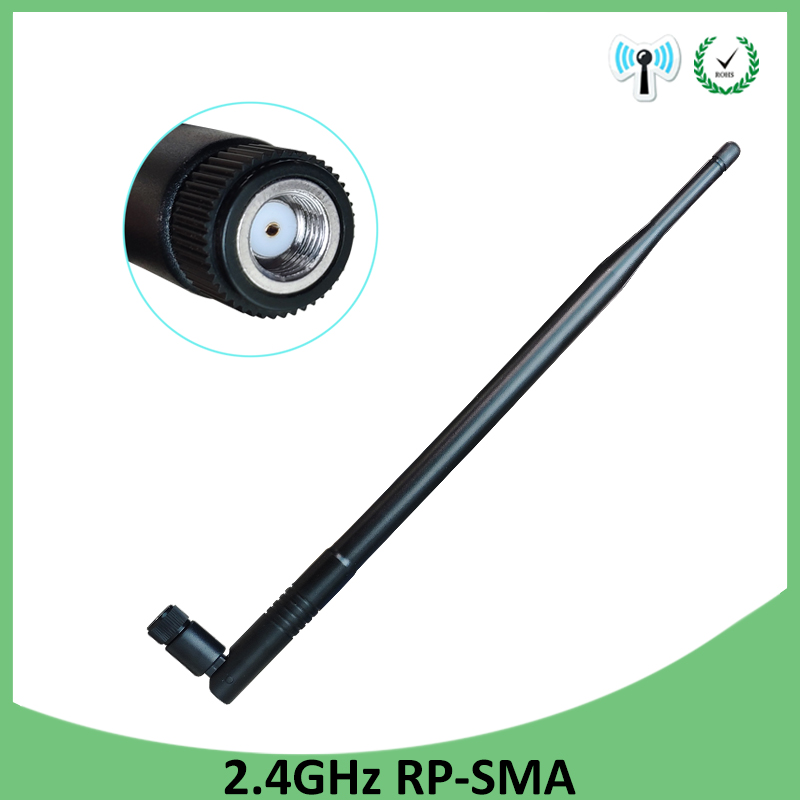 2.4GHz RP-SMA Connector WiFi Antenna 12dBi 2.4G 50W High Gain Wireless Networking Aerial For Router Indoor Outdoor