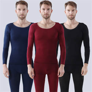 2019 Winter long johns thick men thermal underwear sets keep warm for Russian Canada