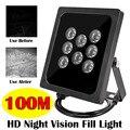 120 м ИК-дальность CCTV светодиодный S ИК-осветитель Лазерная инфракрасная лампа 8 шт. Массив светодиодный ИК водонепроницаемый ночного видения...