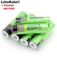 Liitokala nova ncr18650b 3.7v 3400 mah 18650 bateria recarregável de lítio com pontas (sem pcb) baterias