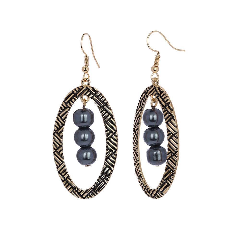 Cring Coco Hawaiian Geometric Drop Earrings Classic Alloy Metal Big Creative Trendy Bridal Party Jewelry Earring for Women Girls