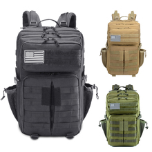Military Tactical Climbing Backpack Camouflage Outdoor Sport Backpacks Hiking Camping Hunting Bags Travelling Trekking Rucksack