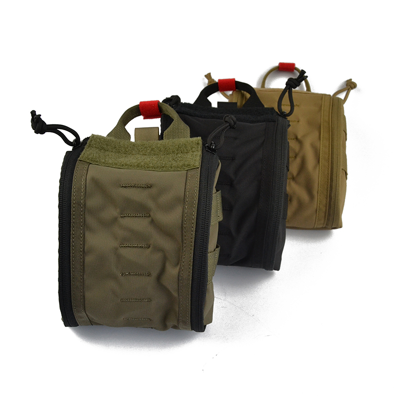 Delustered IFAK First Aid Kit Fatboy Trauma Kit Pouch EMT Pouch Medical Hunting Camping Tactical Hike TW-P088