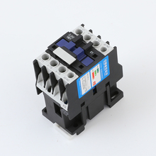 цена на CJX2-1801 LC1 AC Contactor 18A 3 Phase 3-Pole NC Coil Voltage 380V 220V 110V 36V 24V 50/60Hz Din Rail Mounted 3P+1NC