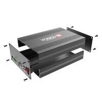 H28 145W68H mm/5 7 ''x 2 67'' x 7 84 ''carcasa de aluminio para Proyecto de caja de mecanizado/caja de excursión