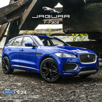 welly 1:24 Jaguar F-PACE  car alloy car model simulation car decoration collection gift toy Die casting model boy toy welly 1 24 jaguar f pace car alloy car model simulation car decoration collection gift toy die casting model boy toy