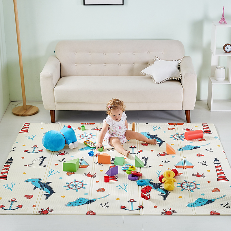 Folding Baby Activity Mat XPE Waterproof Toys Play Mat Children Rug Foam Soft Playmat For Kid Game Blanket Sleeping Pad For Baby