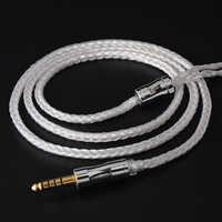 NICEHCK C16-1 16 Cores Silver Plated Cable 3.5/2.5/4.4mm Plug MMCX/2Pin/QDC/NX7 Connector For KZCCA ZSX TFZ QDC BL-03 NX7/DB3/M6