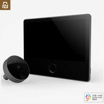 Stock Youpin Luke Smart Door Video doorbell Cat Eye Youth Edition CatY Gray Mijia App Control Rechargable IPS Display Wide Angle - DISCOUNT ITEM  31 OFF Consumer Electronics
