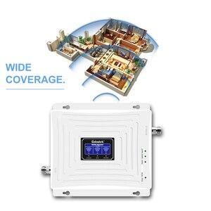 Image 5 - Lintratek tribanda B1 + B3 + B7 3G UMTS 2100mhz GSM 4G LTE 1800mhz 2600mhz LCD الهاتف المحمول gsm مكرر إشارة الداعم مكبر للصوت