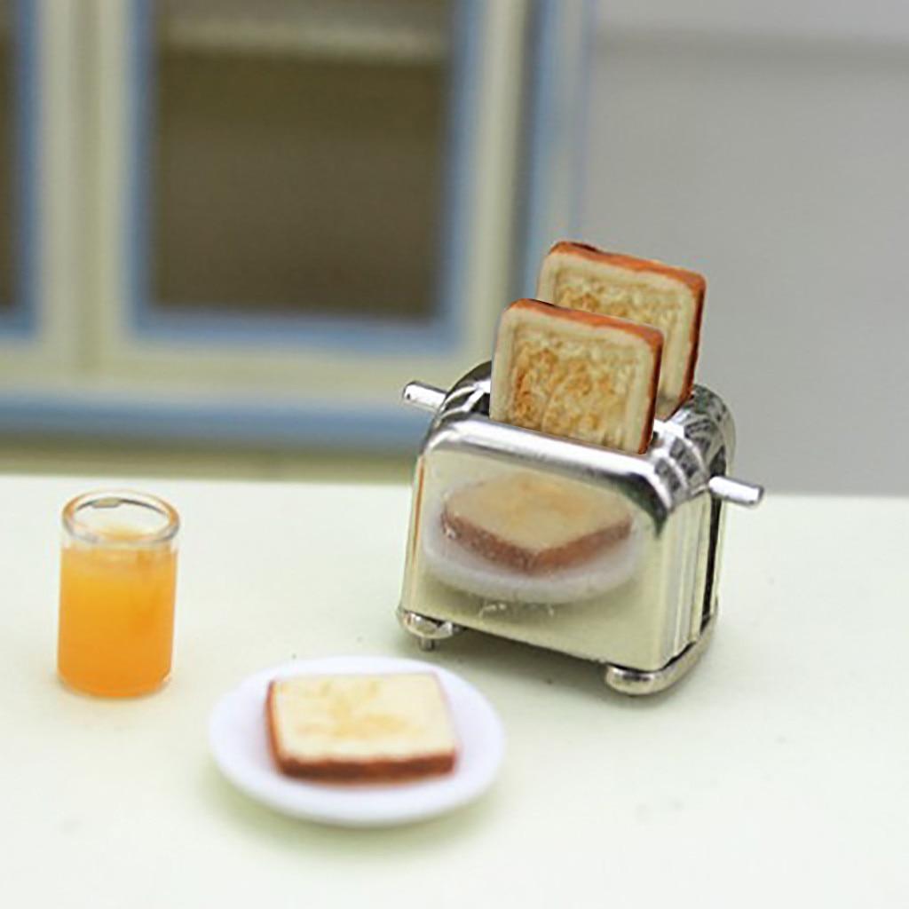1:12 /Dollhouse Miniature Scene Model Bread Machine Pretend Play Simulation Doll House Accessories Kids Toy Decor Gifts M840#