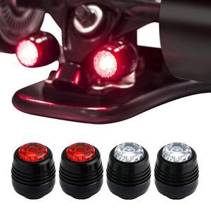 4 pçs quatro rodas longboard luzes skate luzes led noite aviso lâmpada para longboard scooter elétrico