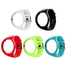 Pasek silikonowy opaska sportowa dla Polar M200 Smartwatch bransoletka zamienna zegarek moda sportowa bransoletka akcesoria SmartWatch tanie tanio VODOOL CN (pochodzenie) Pasek zegarka Dla dorosłych