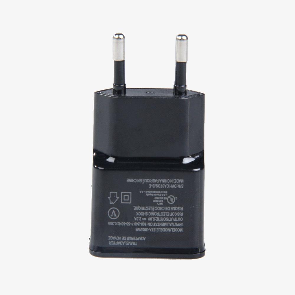 EU Plug USB Mobile հեռախոսի լիցքավորիչ, 5V 2A - Բջջային հեռախոսի պարագաներ և պահեստամասեր - Լուսանկար 4