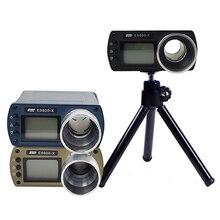 ความถูกต้องความเร็ววัดความเร็ววัดยิงหน้าจอ LCD แบบพกพา Chronoscope E9800 X ความเร็ว Tester