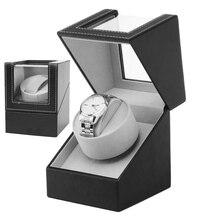 EU/UK/US/AU Storage Organizer Display Casket Motor Shaker Holder Automatic Mechanical Watch Winder Box Winding Case Holder