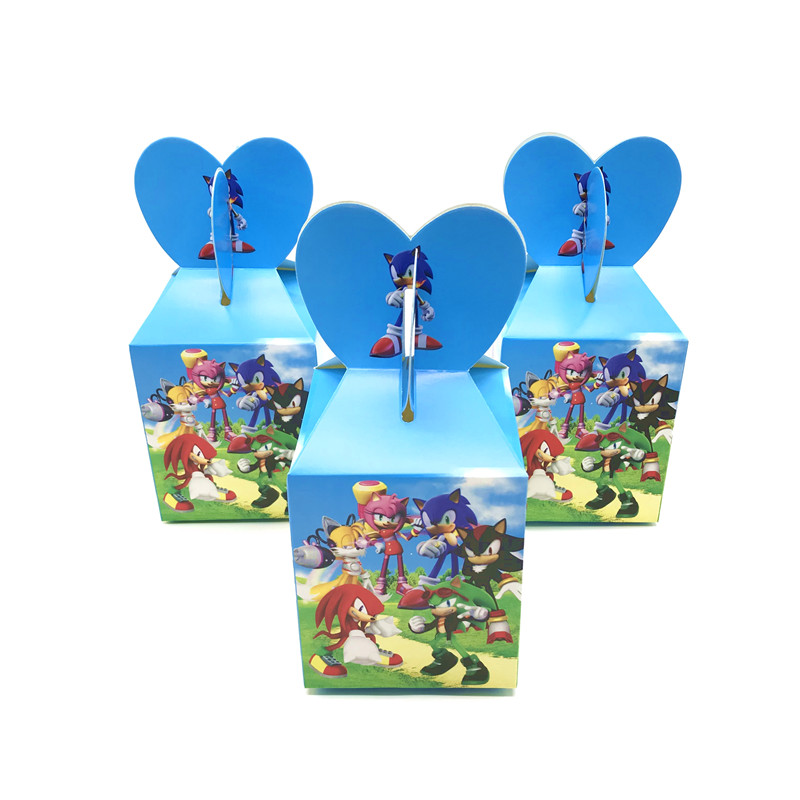 Wholesale Sonic The Hedgehog Theme Party Candy Boxes Birthday Party Decoration Favors Candy Box Birthday Gift Bag Party Supplies Gift Bags Wrapping Supplies Aliexpress