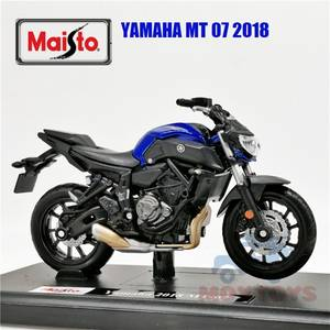 Maisto 1:18 Yamaha MT-07 2018 Diecast Model Motorcycle Toy Bike