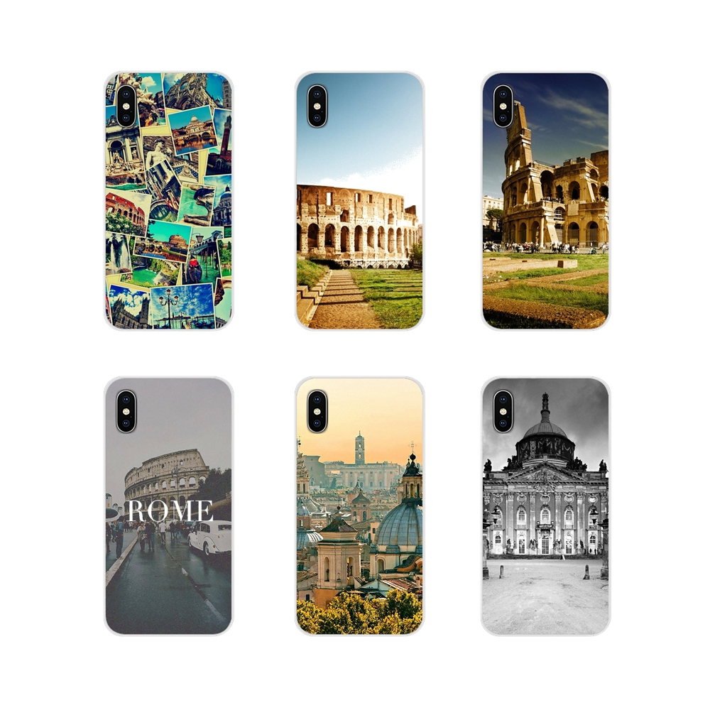 For Huawei G7 G8 P7 P8 P9 P10 P20 P30 Lite Mini Pro P Smart Plus 2017 2018 2019 Accessories Phone Cases Covers Italy Rome