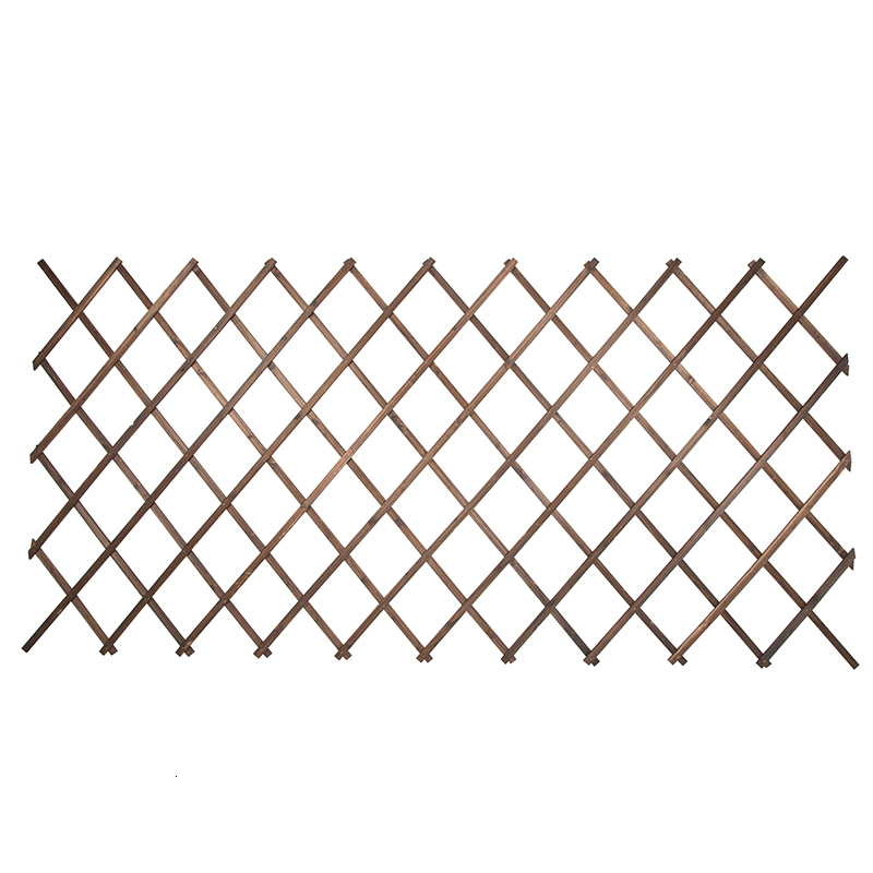 Rack Arbor Woodiness Wall Wall Hanging Flower Bracket Anticorrosive Wood Telescopic Network Balcony Enclosure Solid Wood Fence|Plant Shelves| |  - title=