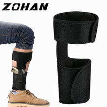 Tactical Ankle Pistol Holster for Glock Concealed Carry Leg with Elastic Fixing Strap Handgun Pouch Gun Bag
