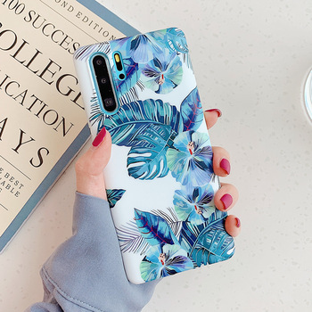 LOVECOM Vintage Banana Leaf Flower Phone Case For Huawei P30 P20 Pro Lite Mate 20 Pro 20X Nova 5 Pro Soft IMD Phone Back Cover 1