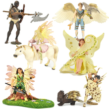 Toy Figurine Collectible Warrior Ancient Fairy Harp Tribe Elf Myth Queen Scout Bulks