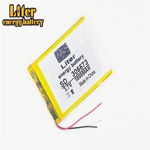 Image 2 - 3 линейная литровая энергетическая батарея 305573, 3,7 в, 1800 мАч, 305570, 305575, литий ионные/Полимерные литий ионные батареи
