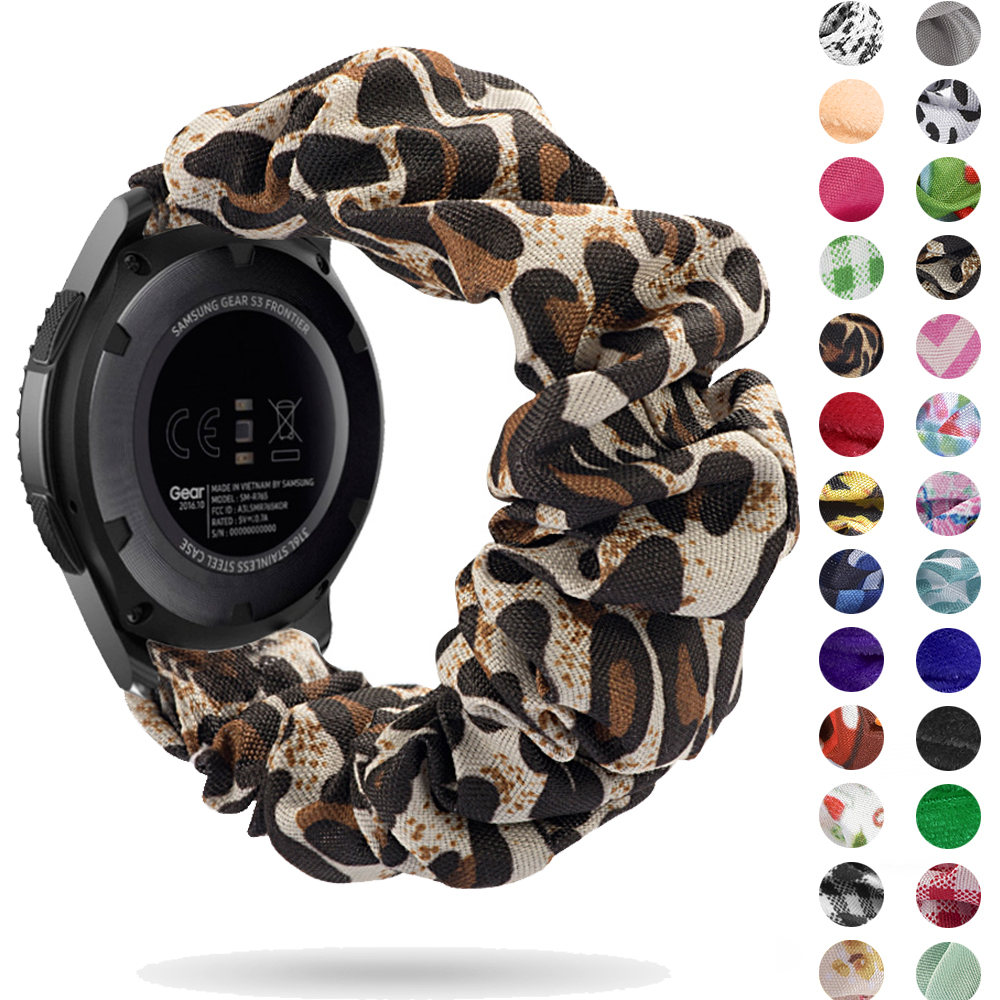 Watch Strap Elastic For Samsung Galaxy Watch 46mm Active Strap Gear S3  Frontier Band Bracelet  20mm 22mm 18mm Amazfit Bip Loop