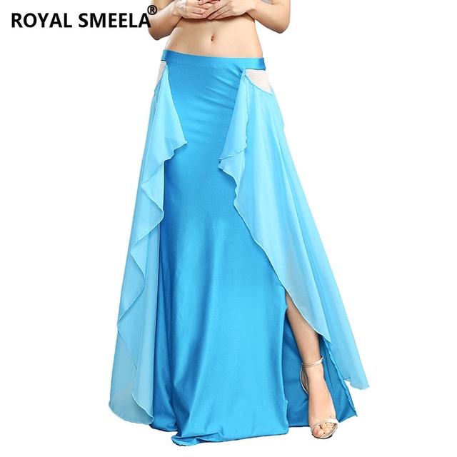 ROYAL SMEELA 2020 New design Women sexy Belly Dance Skirt Belly Dancing clothes female professional belly dance Costumes 119075
