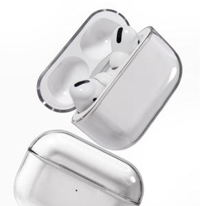 Protective-Case Transparent-Cover Apple Airpods Bluetooth Wireless for PC Hard New