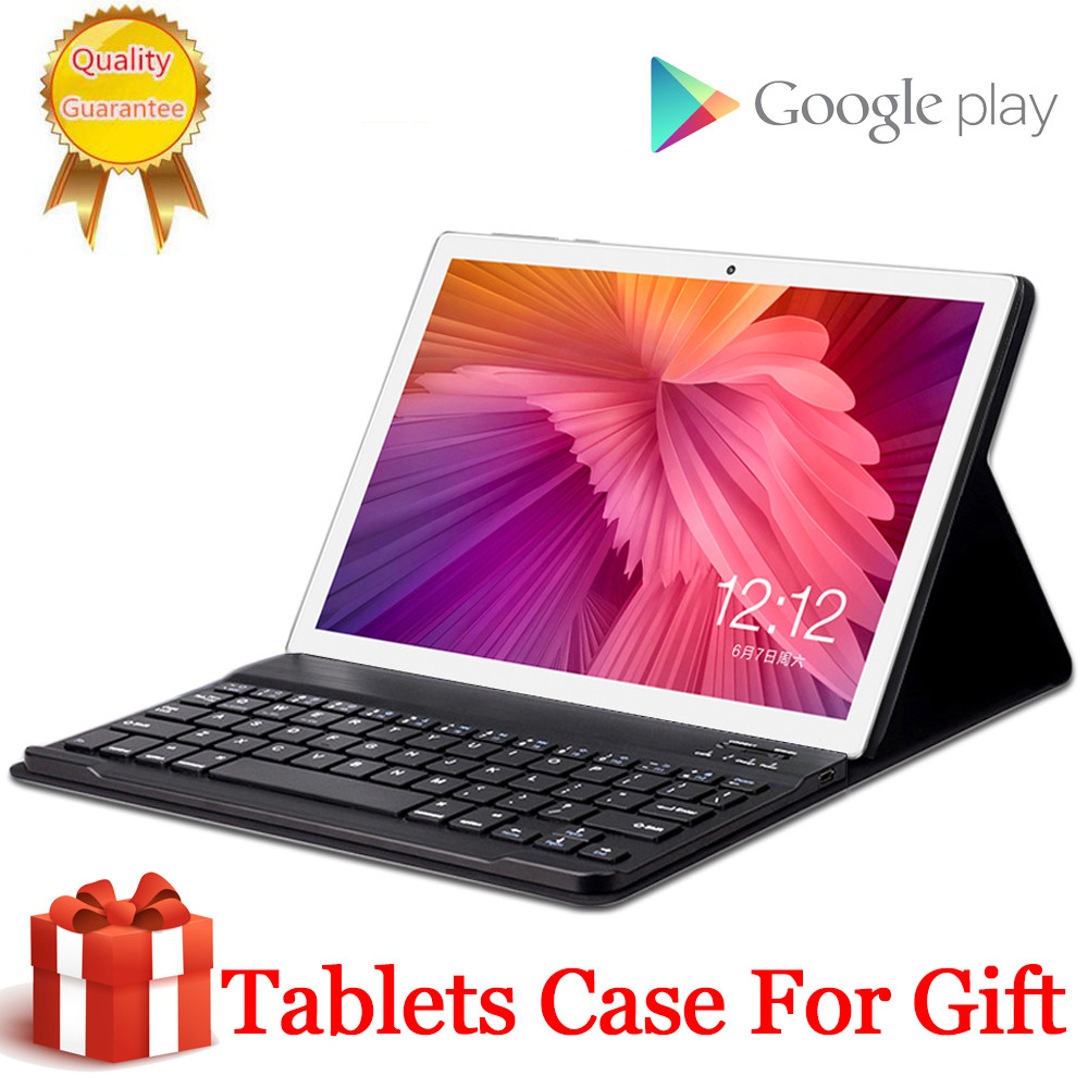 Free Gift Case Cover 4G LTE 10.1 Inch Tablet Pc 10 Deca Core MT6797 8GB RAM 64GB 128GB 256GB ROM Tempered 2.5D Glass Android 8.0