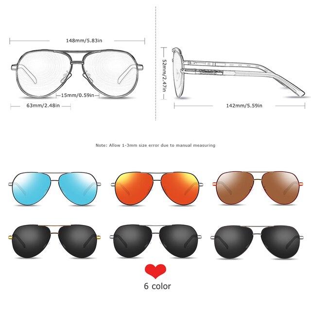 Men sunglasses Polarized UV400 Protection Driving Sun Glasses Women Male Oculos de sol 3