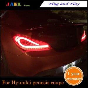 Jael led luzes traseiras para genesis coupe 2009 ~ 2012 led cauda lâmpada sinal de freio luz reversa