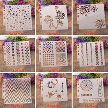 Stencils Template Deer Painting Scrapbooking Embossing Stamping Album Craft Card M89A