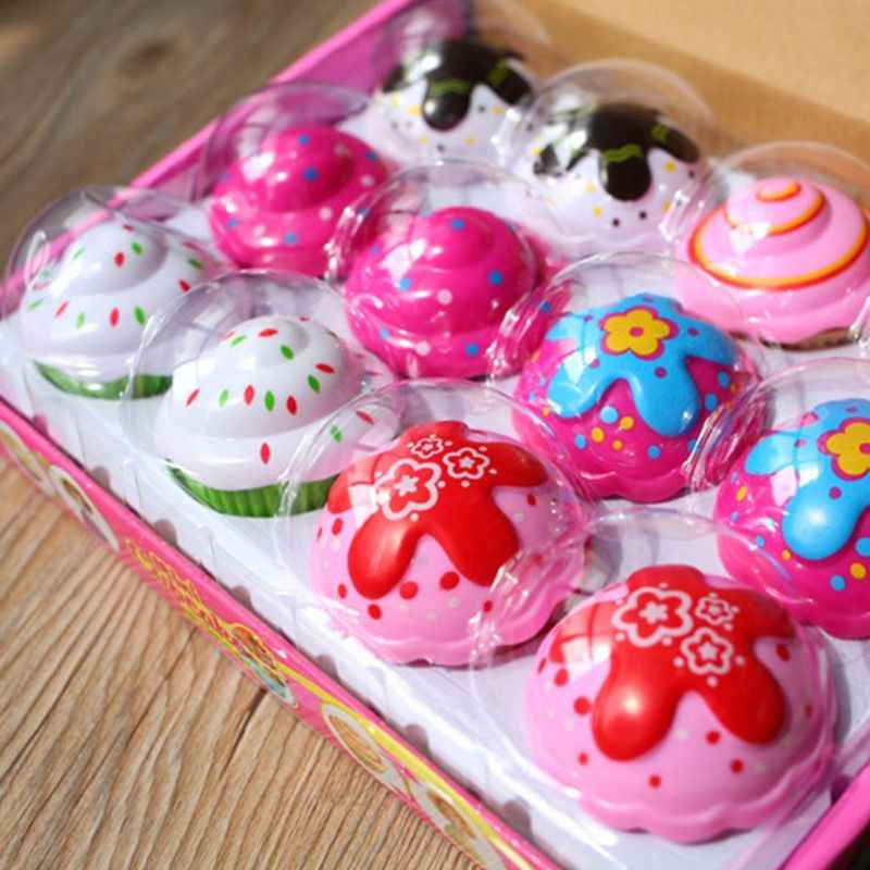 Mini Cute Cake Doll Toy Cupcake Princess Children Kids Transformed Scented Girls Funny Games Surprise Birthday Gifts Y4QA