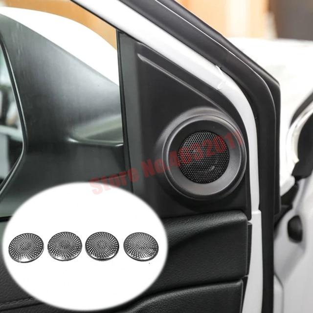 Couvercle de décoration de voiture en acier inoxydable   Pour Honda 2017 CRV 2018 2019 2020 colonne avant/arrière de voiture, accessoires de style de voiture