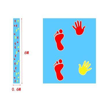 Outdoor Training Hände und Füße Spiel Pad Team Erweitern Requisiten Gruppe Gebäude Spaß Spiel Pads Kinder Kinder Spiele Spielzeug Matte