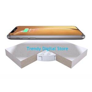 Image 5 - צ י בלתי נראה אלחוטי מטען שולחן טעינת Pad ריהוט שולחן מוטבע עבור IPhone 11 XR Xiaomi קל התקנה נוח
